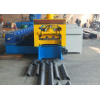 China Type 310 Gear Driven Highway Guardrail Roll Forming Machine 37kw Reducer Power And GCr15 Roller wholesale