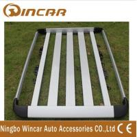 China Silvery Aluminum Car Roof Rack Luggage Rack (W0701) with different size wholesale