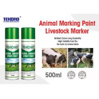 China Environmental Friendly Animal Marking Paint Suitable For Pig / Cattle / Sheep wholesale