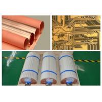 China Single Side Type Copper Foil Sheet 18 Micron Width 530 Mm With High Peel Strength wholesale