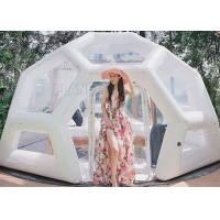 China Waterproof 0.8mm Inflatable Bubble Tent For Camping Hotel wholesale
