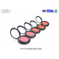 China Professional wholesale waterproof makeup single color blusher with blush wholesale