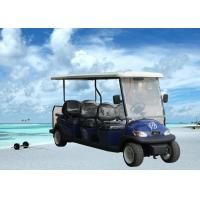 China Modern Design Electric Club Car , Motorized Street Golf Cart 8 Passenger on sale