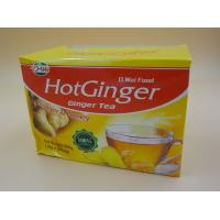 China Ginger Tea with Honey Instant Drink Powder Particle Calorie Free 10 G * 20 Pcs wholesale