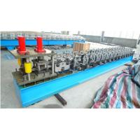 China Insulated Polyurethane foam-filled rolling shutter door Roll forming Machine on sale