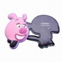 China Promotional soft PVC 3D fridge magnet, made of eco-friendly soft PVC with 3D effect process wholesale
