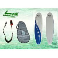 China round nose square tail wooden long surfboards with Deck Pad / Board Bag wholesale