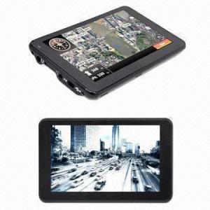 China GPS + DVR car navigation system, measures 135.4x84x13mm wholesale