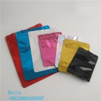 China Smooth Bright Surface Cosmetic Packaging Bag Aluminum Foil Material Customized Size wholesale