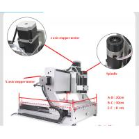 China mini 3020 200w cnc router with rotary axis on sale