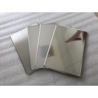 China Mirror Finish Stainless Steel Wall Panels Anti - Static With Fire Resistance wholesale