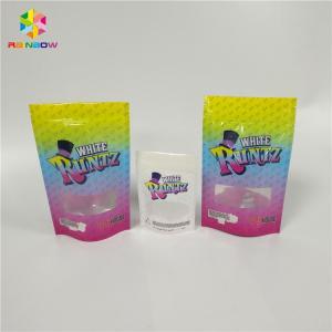 China Top Zip Lock Health Food Packaging , Clear Window Foil Bags For Food Packaging wholesale