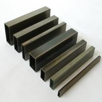 Buy cheap Galvanized Structural Carbon Steel Rectangle Tube or Stainless Steel polishing 1.5mm from wholesalers