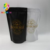 China Laminated Aluminum Foil Plastic Pouches Packaging , Heat Sealed Stand Up Bags With Valve wholesale
