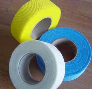 China 50mm Alkali Resistant Self Adhesive Fibreglass Mesh Tape wholesale