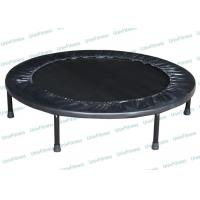 China Kids Indoor Rebounder Mini Trampoline With Handle Adjustable Oval Shape wholesale