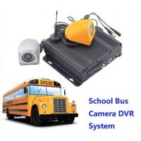China CCTV Realtime 4 Camera Car DVR Recording / Mobile Bus Car Vehicle DVR Security System wholesale