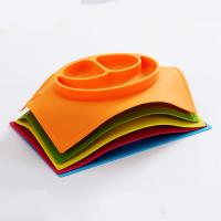 China TOP quality new FDA silicone plate, factory price with various color wholesale