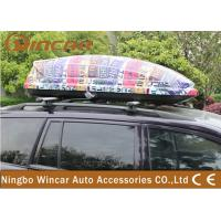 China Universal SUV / CRV Car Roof Boxes with ABS Plastic Colorful Printing wholesale
