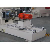 Quality PVC Granules Plastic Pellet Extruder With Hot Air Cooling Cutting System for sale