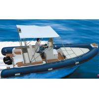 China Rigid Hull Inflatable Rib Boat Abrasion Resistance 600 Cm With Boat Trailer wholesale