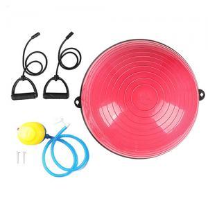 China Sport Gym Half Balance Ball Trainer Slip Resistance 100% PVC Material wholesale