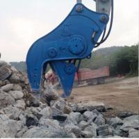 China Reverse Cylinder Pulverizer Attachment For Excavator Buildings Demolition wholesale