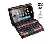 China wholesale Dapeng T8000 Dual SIM WIFI Analog TV Phone with External Luxury on sale