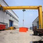 China 15 Ton 20 Ton Gantry Crane Easy Maintenance Single Girder Heavy Duty wholesale
