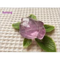 Buy cheap Transparent Handmade wholesale hotel toilet bath soap glycerin soap from wholesalers