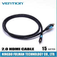 China 15 Meter Long Length Colorful HDMI CABLE High Speed with Ethernet on sale