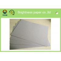Single Side Coating Large White Card Sheets Triplex Board Paper With White Back