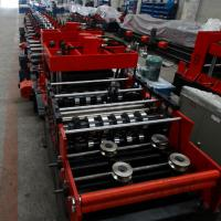 Buy cheap 15KW Z Purlin Roll Forming Machine With Hydraulic / Manual Decoiler from wholesalers