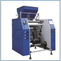 China 450mm Width Cling Film Making Machine / Plastic Film Slitting Machine wholesale