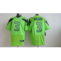 China Nike NFL Seattle Seahawks 3 wilson green elite Jersey wholesale