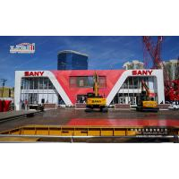 China Fire Retardant Removable Thermo Roof Cube Double Decker Tents With Sany Sign Advertising on sale