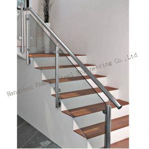 China Villa Home Interior Clear Tempered Glass Railing Stair Guardrail Glaze Handrail wholesale