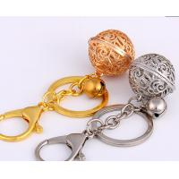China hollow out small bell keychain wholesale