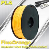 China Eco Friendly PLA  Fluorescent  Filament 1.75mm / 3.0mm 3D Printing Filament wholesale