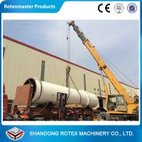 Quality 11 kw Sawdust Rotating Drum Dryer Machine 12 m Length 2.2 m Width for sale