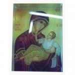 China Decorative Orthodox Crystal Icon - Madonna and Child wholesale