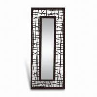 Buy cheap Metal Framed Mirror, Suitable for Walls, Various Colors and Sizes are Available from wholesalers