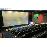 China 4D Movie Theater Equipments 7.1 audio system with curved / flat Screen wholesale
