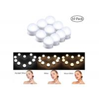 China Hollywood Style LED Makeup Vanity Lights Wall Mounted Bathroom Mirror Front Lamp IP43 wholesale