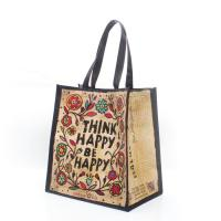 China Customized Printed pp woven laminated reusable shopping bags for business wholesale