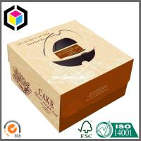 China Delicate High Quality Cheap Paper Cake Box; Color Printing Handle Box on sale