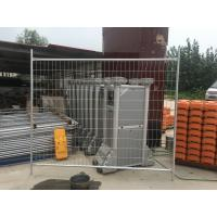 China Long Service Life HDG Temporary Fence Security Fence Panels 84 Microns wholesale
