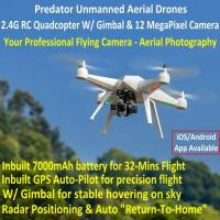 China Predator Unmanned Aerial Vehicle 7CH RC Quadcopter Drone Photography Fly Camera Recorder wholesale