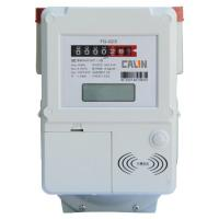 China Compliant Contactless IC Card Prepaid Gas Meter With Lcd Display , Lightweight wholesale