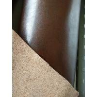 China Anti - Mildew  Full Grain Cowhide Leather , Genuine Bonded Leather wholesale